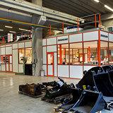 Cabine Interparts - Kantoorruimte op een werkvloer