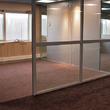 Scheidingswand Balta - ruimte volledig gescheiden met een glazen wand