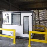 Verplaatsbare Cabine - Oleon - Cabine met aanrijbeveiliging