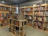 """""""Sobere boekenrekken"""" title=""""Sobere boekenrekken"""""""