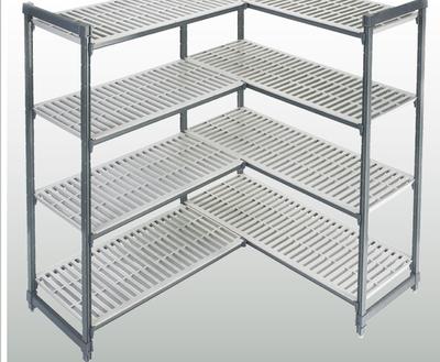 """""""De legborden kunnen in een L-vorm geplaatst worden. Zo worden de hoeken van uw ruimte optimaal benut."""" title=""""De legborden kunnen in een L-vorm geplaatst worden. Zo worden de hoeken van uw ruimte optimaal benut."""""""