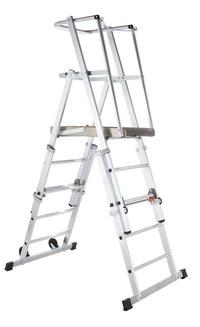 """""""ZAP-platformladder, in hoogte verstelbaar niet gratis wel te koop"""" title=""""ZAP-platformladder, in hoogte verstelbaar"""""""