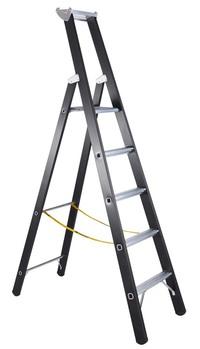 """""""Enkelzijdige trapladder voor zware lasten kopen"""" title=""""Enkelzijdige trapladder voor zware lasten"""""""