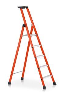 """""""Enkelzijdige trapladder van sterk glasvezel. kopen"""" title=""""Enkelzijdige trapladder van sterk glasvezel."""""""