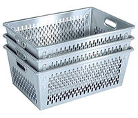 """""""Aluminium manden die stapelbaar zijn. Op maat kopen"""" title=""""Aluminium manden die stapelbaar zijn."""""""