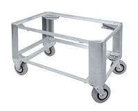 """""""Een frame van een aluminium rolwagen."""" title=""""Een frame van een aluminium rolwagen."""""""