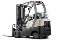 """Intern transportmiddel: elektrische heftruck"" title=""Intern transportmiddel: elektrische heftruck"""