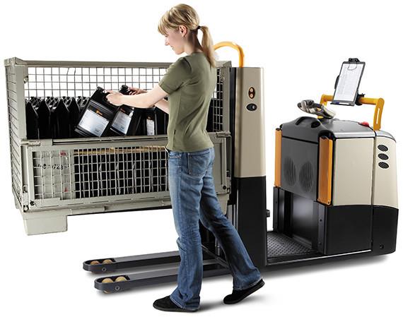 """""""De standaard GPC orderverzamelaar met ergonomiepakket heeft een hefvermogen van 2000-2700 kg"""" title=""""De GPC orderverzamelaar"""""""
