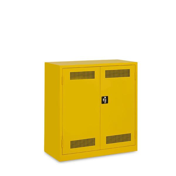 """""""Standaard veiligheidskast met legbord en lekbak."""" title=""""Standaard veiligheidskast met legbord en lekbak."""""""