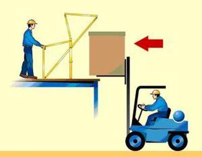 """De 1ste stap hoe een kantelhek werkt"" title=""Hoe werkt een kantelhek stap 1"""