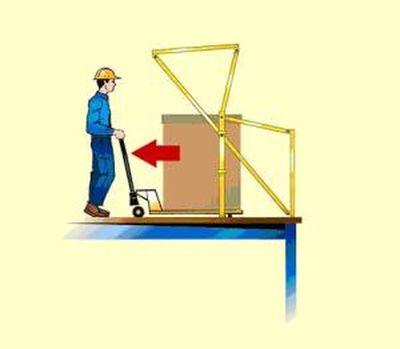 """""""De 3de stap hoe een kantelhek werkt"""" title=""""Hoe werkt een kantelhek stap 3"""""""