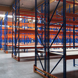 Palletstelling - Biofresh - Rijen palletstellingen met houten-planken