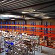 Palletstelling - Milpledge - Uitzicht palletstelling installatie
