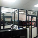 Scheidingswand - Delhaise Ninove - kantoorruimte