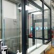 Scheidingswand - Delhaise Ninove - Uitzicht-kantoor