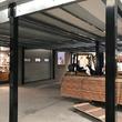 Tussenvloer voor opslag - Vrije Ruimte - Platform met zwarte stijlen