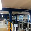 Tussenvloer voor opslag - VUB Brussel - Platform rond pilaren