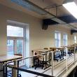 Tussenvloer voor opslag - VUB-Brussel - gangpad met lessenaars - 2