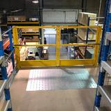 Tussenvloer op stelling - Epsivol - Veiligheidspoort voor goederen veilig te stockeren