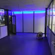 Tussenvloer voor Kantoor - Ruimte met blacklight verlichting
