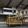 Tussenvloer voor kantoor - Decolam - Kantoren op maat geplaatst op een platform