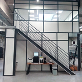 Tussenvloer voor kantoor - PMC - klein bureau onder trap