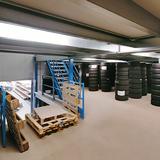 Tussenvloer voor opslag - Schyns - platform voor bandenstockage