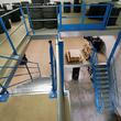 Tussenvloer voor opslag - Schyns - Bovenste banden stockage met laaddeur