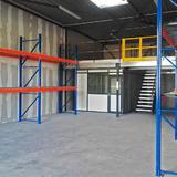 Tussenvloer voor opslag - TOV - Volledige inrichting van opslag en kantoorruimte