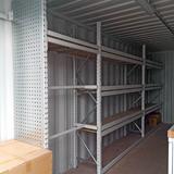Container - Met grootvakstelling en mappenhanger